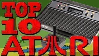 Top10 Atari - Os Mais Memoráveis Jogos do Atari 2600