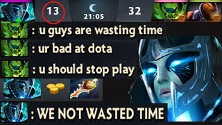 When 8k Player Think Ez Game and Trash Talk , Rapier PA Comeback vs Toxic Never Give Up Dota 2
