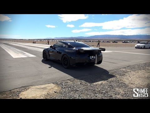 ETS 1500hp Nissan GT-R - Runway Blasts and Near Spin