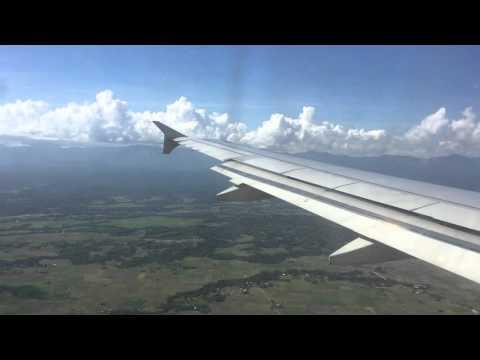 Landing at Iloilo International Airport, Iloilo, Philippines