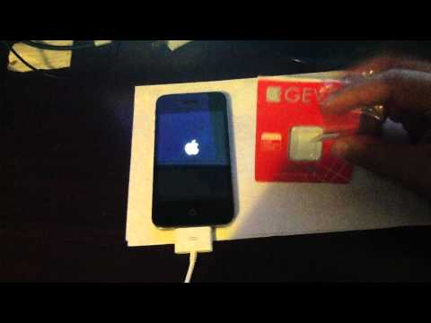 How to Unlock Verizon CDMA iPhone 4S iOS 5. 1. 1/2. 0. 12 Verizon for T-mobile with Gevey