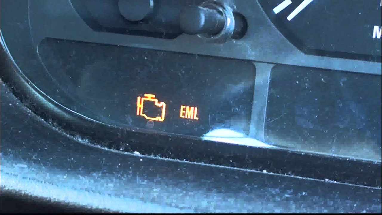 Bmw E46 Engine Management Light Eml Youtube