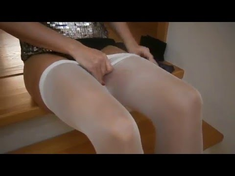 Putting pantyhose layers
