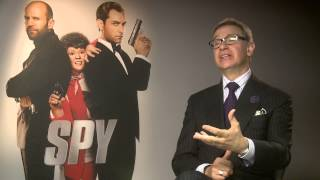 Spy | Paul Feig On The 'Brit Pack' | 2015