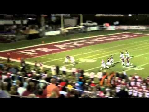 #38 - Patrick Juan Parks (OLB) 2011 Season Highlight - Prattville High School