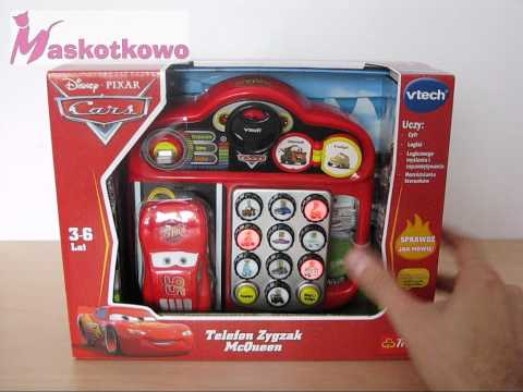 VTECH telefon Zygzak McQueen - zabawka interaktywna