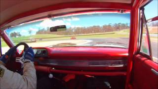 1963 Ford Galaxie 427 Group N Historic Touring Car Chasing Falcon GTHO