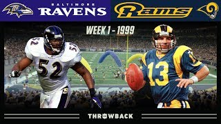 The Greatest Show on Turf is Born! (Ravens vs.  Rams 1999, Week 1)