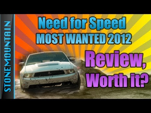 Need for Speed: Most Wanted 2012 Review & First Impressions Gameplay NFS001