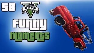 GTA 5 Next Gen Funny Moments Ep. 58 (Trucknado, Alien Capture, Epic water Glitch)