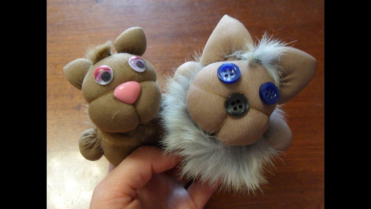 Оригинальные игрушки своими руками Мягкая игрушка кот своими руками 56