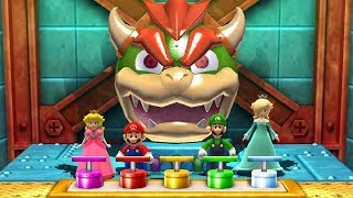 Mario Party The Top 100 MiniGames - Peach Vs Mario Vs Luigi Vs Rosalina (Master Difficulty)