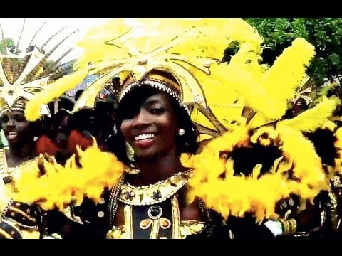 Our Yoruba girl puts on her costume for Lagos Carnival! (just like the Yoruba Movies!)