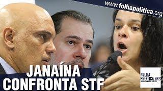 URGENTE: Janaína Paschoal se levanta contra Toffoli e Moraes/STF, faz discurso histórico e alerta..
