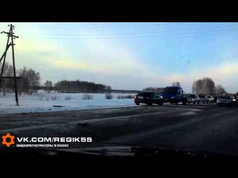 ДТП на трассе «Тюмень – Омск», Любинский район, 7 января 2015.