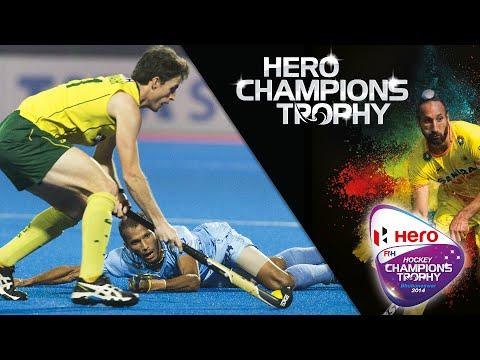 Australia vs India - Men's Hero Hockey Champions Trophy 2014 India 3rd Place [14/12/2014]