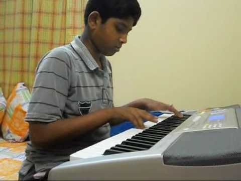 Dhoom Machale - Hindi Movie Song (instrumental ) Played By Ambar On Piano keyboard video
