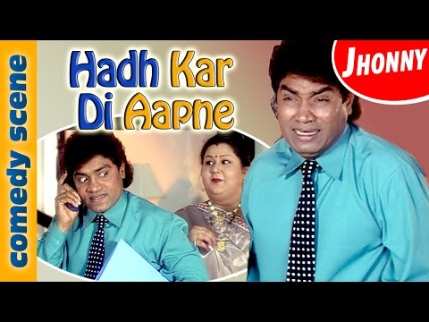 Johnny Lever Best Comedy Scene | Hadh Kar Di Aapne | Comedy Premier League | Indian Comedy