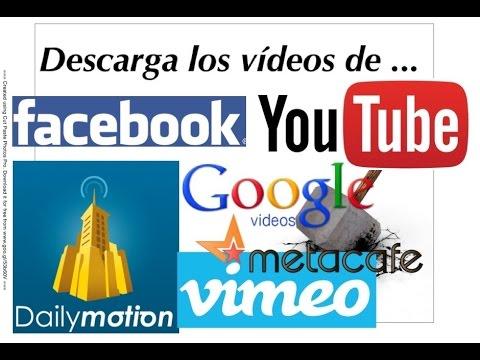 Descargar los videos de Youtube, Facebook, Dailymotion, Vimeo, Metacafe, etc. | GRATIS | 2015