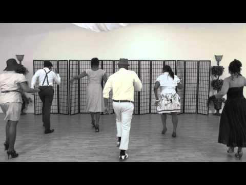 Official Soul Food Line Dance Video - Fantasia-Collard Greens and Cornbread