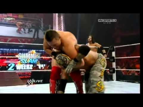 Rey Mysterio & John Morrison Vs The Miz & R-truth (raw 1-8-2011 ) Hd1080p video
