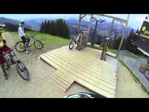 Bike Park Planai Helmet Cam