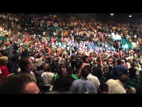 Conor McGregor UFC 189 Post Fight Exit - I'm Shipping Up to Boston - Dropkick Murphys - MGM Grand