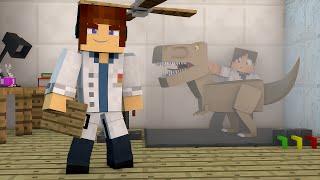 Minecraft :  PRIMEIRO DINOSSAURO !! - ARK CRAFT SURVIVAL #02