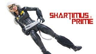 Marvel Legends Black Cat 2019 Spider-Man Kingpin BAF Wave Hasbro Action Figure Review