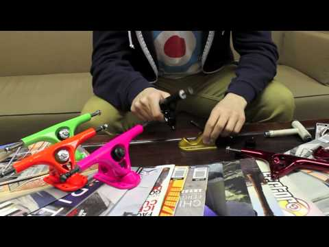 Action Board Sports Presents Paris V2 180mm Longboard Skateboard Trucks