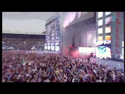 Sebastian Ingrosso - One &amp; Save The World @Summerburst 2012 [HD]