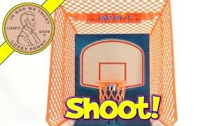Hot Shot Electronic Basketball, Shoot & Score!