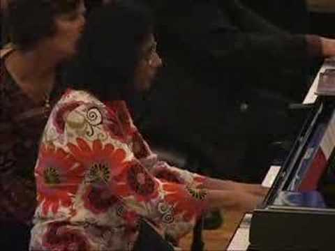 BOSWORTH AND FERNANDO PLAY GLIERE MAZURKA FROM SIX PIECES Video