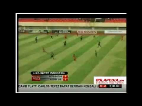 Video Pertandingan isl Persidafon 2-1 Arema Indonesia