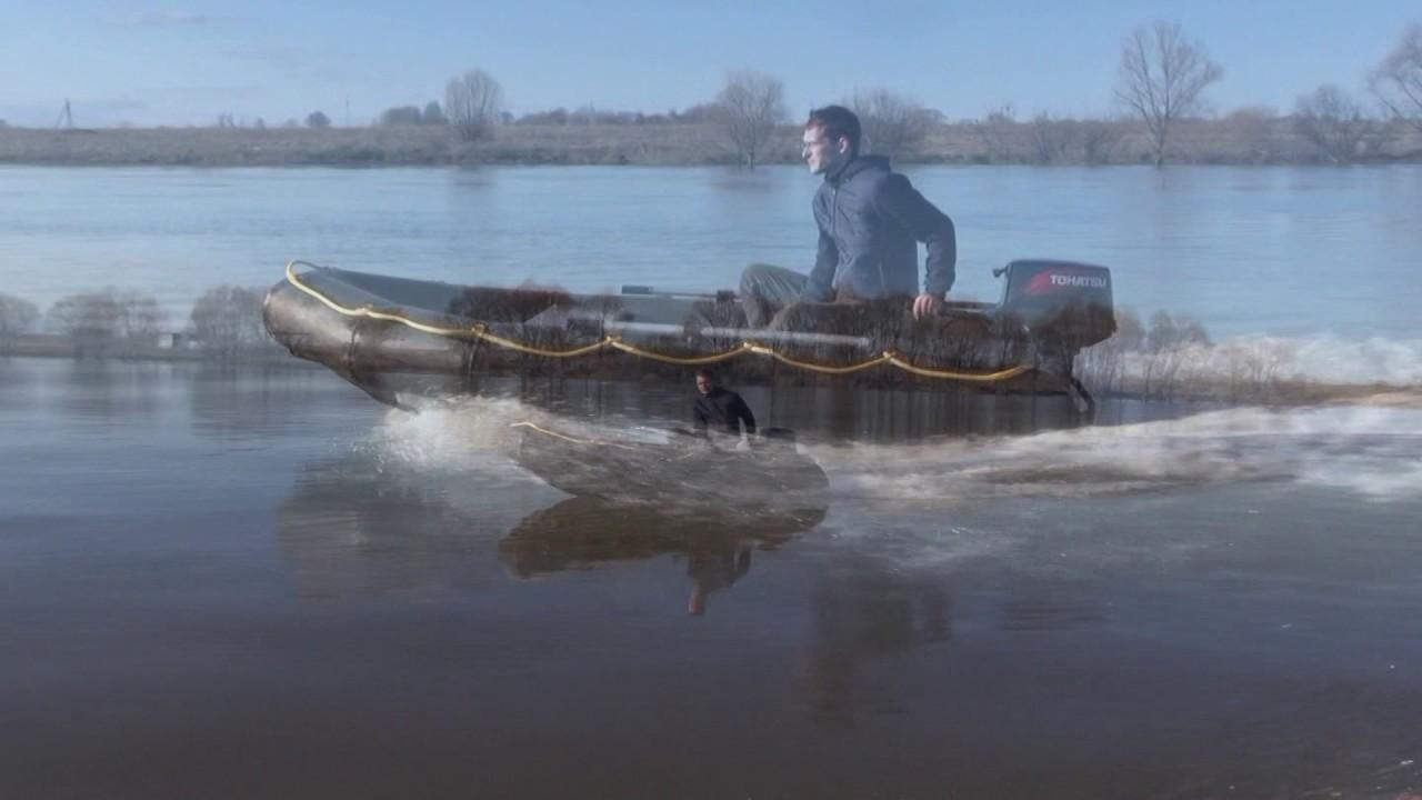 лодка из пнд видео