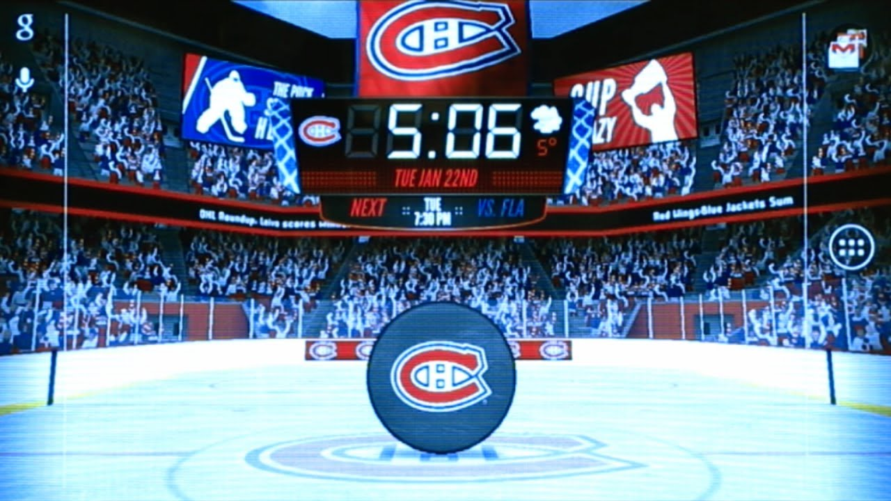 nhl winnipeg jets wallpaper NHL 2013 Live Wallpaper YouTube