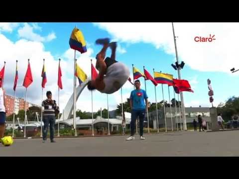 Freestyle Colombia TV For CLARO Sports - BOGOTA