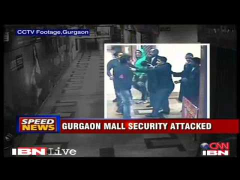 Gurgaon Mall guard beaten for objecting to urinating in parking lot Haryana
