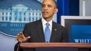 President Obama Speaks on Trayvon Martin