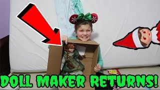 The Doll Maker Is Back! Elf Fixes Doll! She Messed Up My Room Escaping The Doll Maker