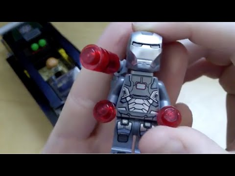 Lego Iron Man 3 Extremis Sea Port Battle Review