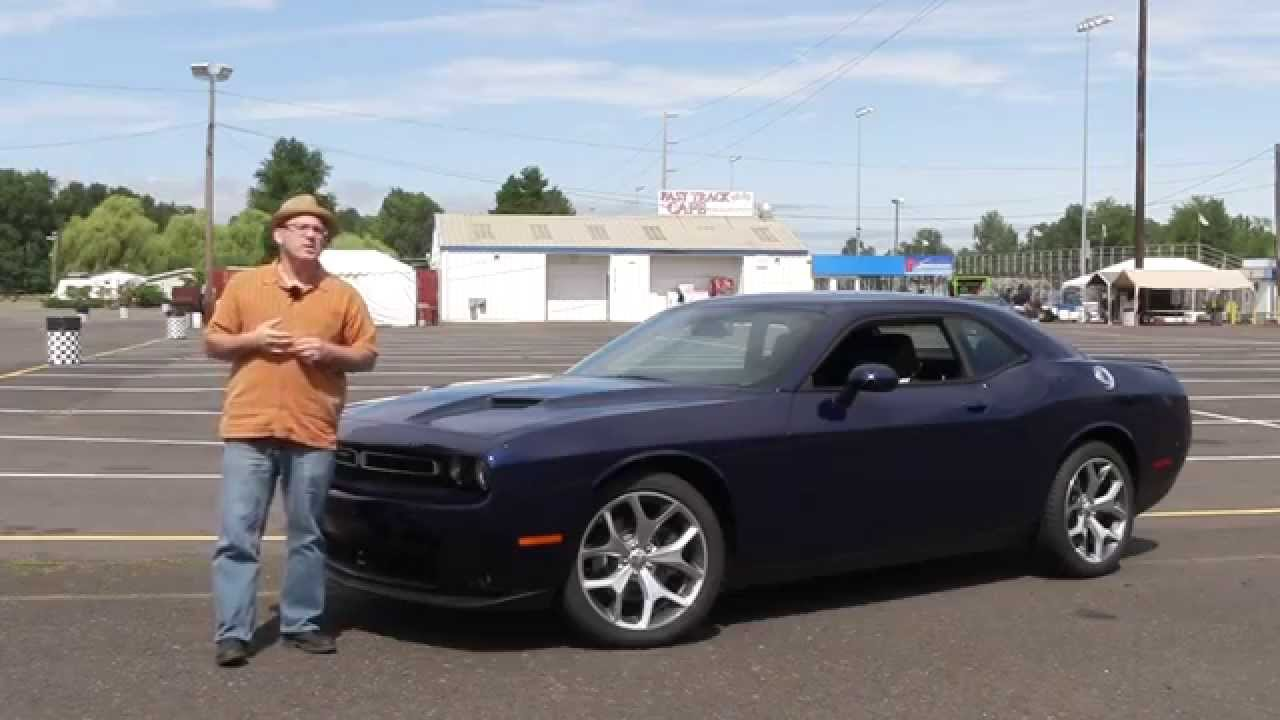 Review 2015 Dodge Challenger Sxt Plus Youtube