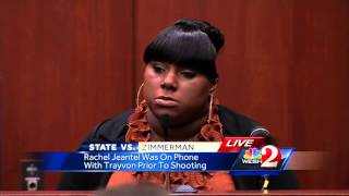 Rachel Jeantel says she changed Trayvon Martin's language because his mom was listening
