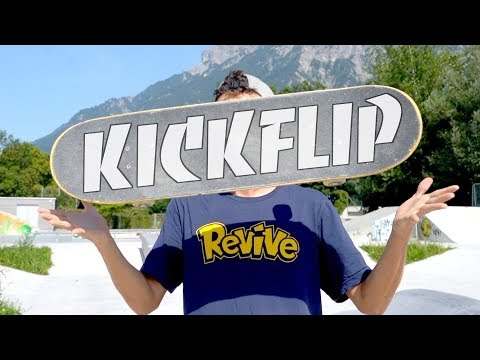 10 Different Ways To Kickflip