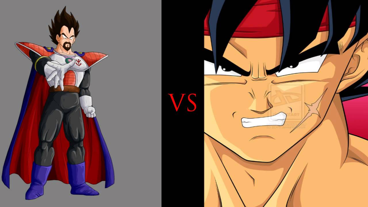 King Vegeta Bills Bardock vs King Vegeta What