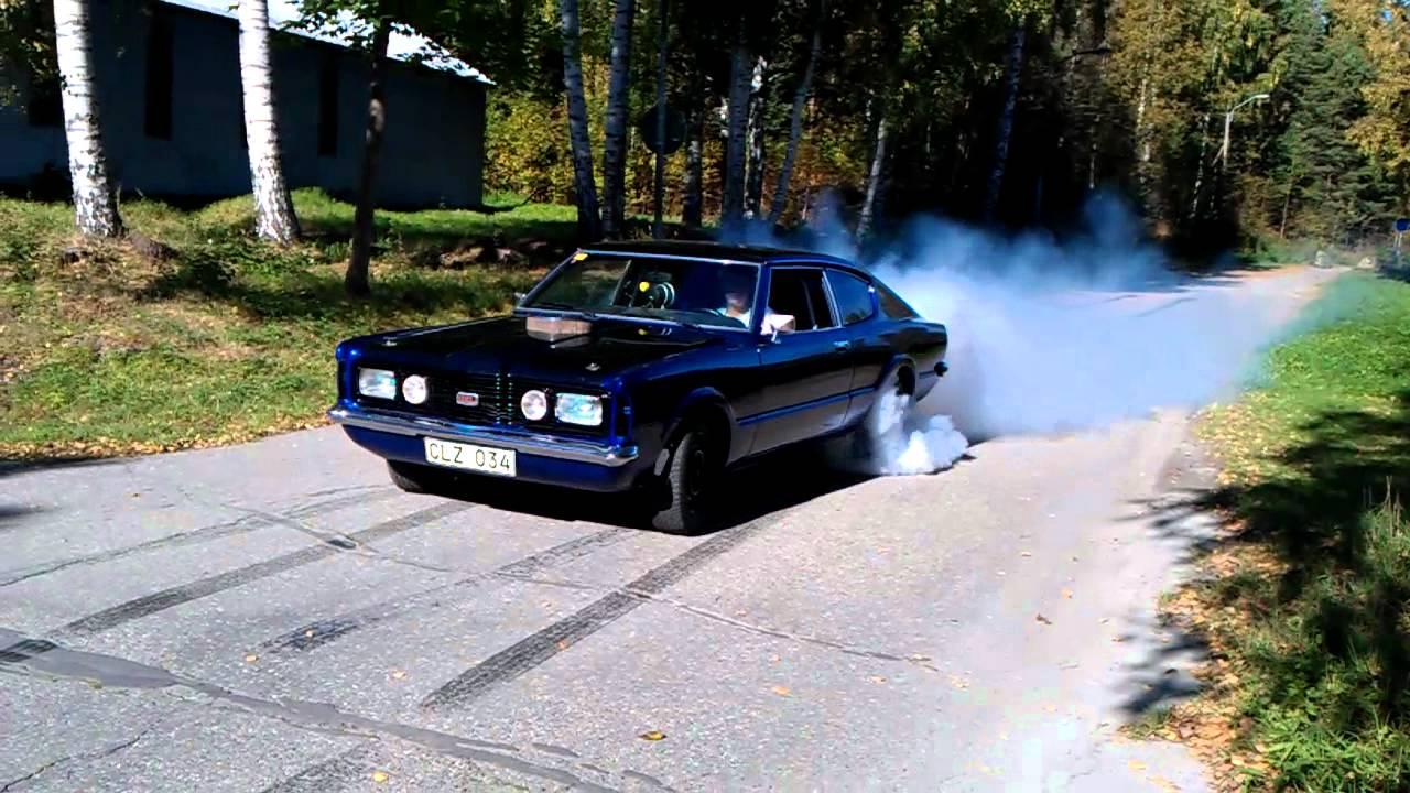 Ford Taunus V8 Burnout Youtube