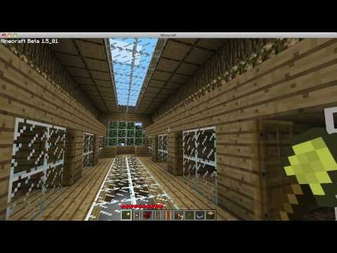 Minecraft Lets Build Dog Kennel With A Tour YouTube