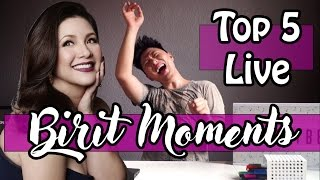 Top 5 Birit Moments of Regine Velasquez(Tagalog) #HappyBirthdaySongBird