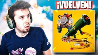 BALLESTA! MISIL TELEDIRIGIDO y JET-PACK!! Vuelven a FORTNITE: Battle Royale