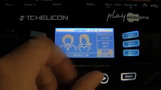 Play Acoustic - Tutorial 5: Vocal Effects Details & Advanced Editing Options